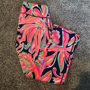 Lilly Pulitzer Cropped Leggings S VGUC